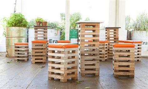 ideen aus paletten tables chairs barstools wood pallet bar stool pallet bar