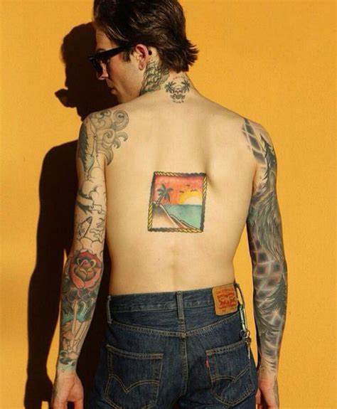jesse rutherford tattoos rutherford tattoos paradise background