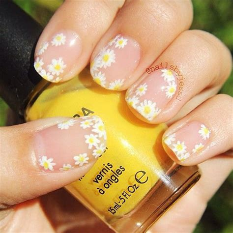 Blumen Nägel by 15 Flower Nail Designs Ideas Trends