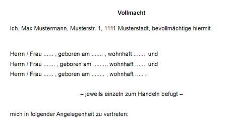 Auto Abmelden Versicherung Zur Ck by Vertrag Vorlage Digitaldrucke De 17 Vollmachten Seite 2