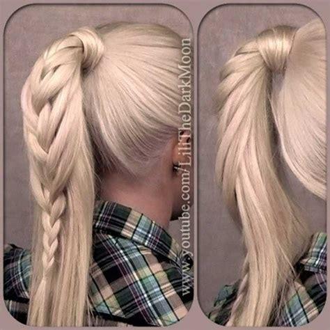 hairstyles 2015 high ponytail 22 looks de verano para tu cabello cut paste de
