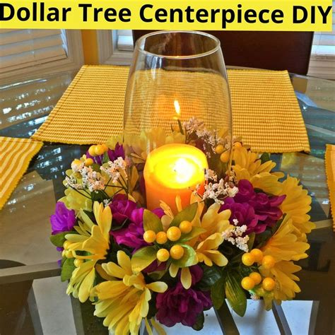 Dollar Tree Decorations by 25 Best Dollar Tree Centerpieces Ideas On