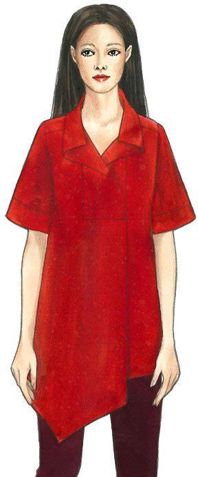 Tunik By Dieeko san diego tunic top jacket sewing pattern from the sewing workshop