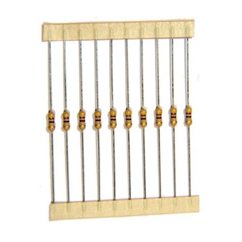 standard resistor values 1 5 10 1 4w resistor dimensions crafts