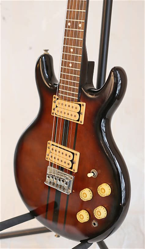 cort les paul sweet vintage 1975 cort les paul double cutaway guitar