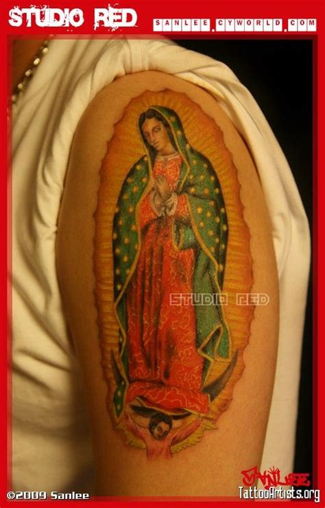Our Lady Of Guadalupe Tattoo Artists Org Virgin Of Bob Tattoos Our Guadalupe
