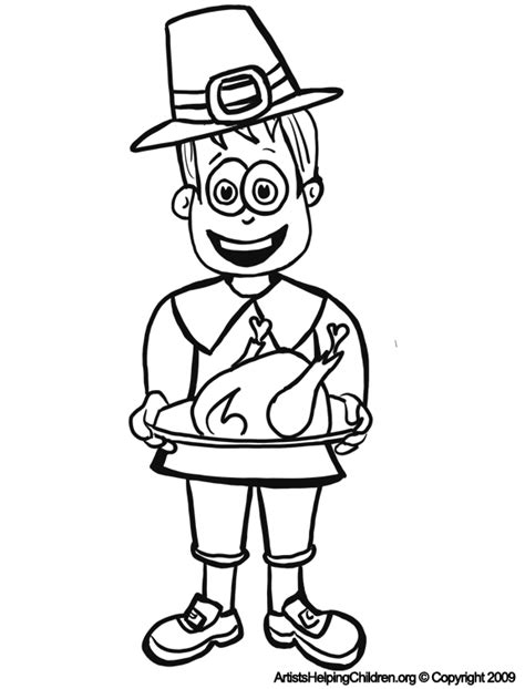 coloring pages for kids printable thanksgiving crafts