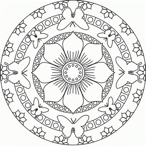 mandala coloring pages for awesome mandala coloring pages for kindergarten collection