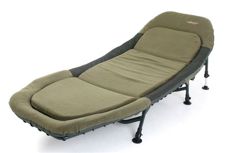 chair for bed cyprinus carp fishing bed chair bedchair with memory foam rrp 163 269 99 ebay
