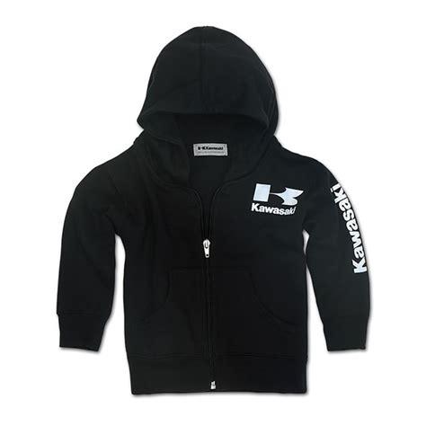 Hoodie Kawasaki Logo Black Station Apparel toddler logo zip front hooded sweatshirt babbitts kawasaki partshouse