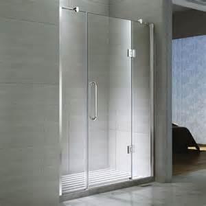 Shower Door Hinged Buy Desire Ten Inline Hinged Shower Door 1600mm Wide Semi Frameless 10mm Glass From