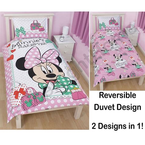 Minnie Mouse Bedroom Ser In A Box Minnie Mouse Bedroom Bedding Accessories Ebay