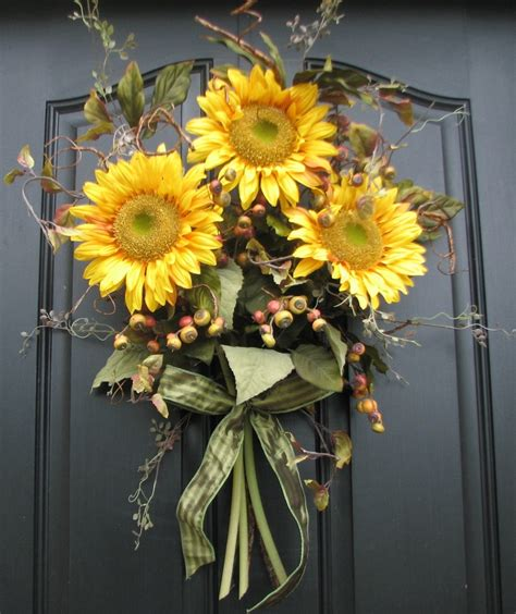Sunflower Decorations by 1000 Images About Sunflower Door Decoration On