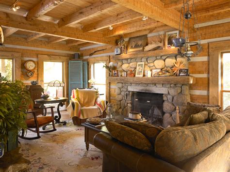 Interior Pictures Of Log Homes Log Cabin Interior Photo Gallery Studio Design Gallery Best Design