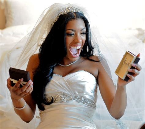 porsha williams wedding porsha williams finds out about divorce on the