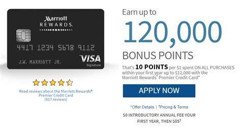 Marriot Mba Credit Requirement by Marriott Rewards 120k Offer Plus Waived Annual Fee