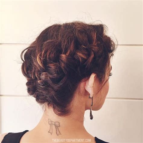 french braided bob lucy hale s braided bob bobs updo and french