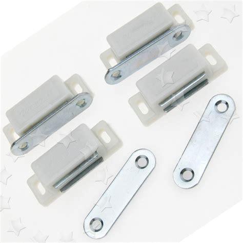 magnetic cabinet door catch white heavy duty magnetic cupboard door catch cabinet door