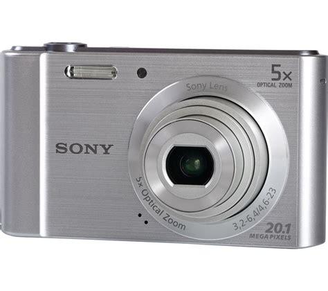 Kamera Sony Cybershot W800 sony w800 compact silver deals pc world