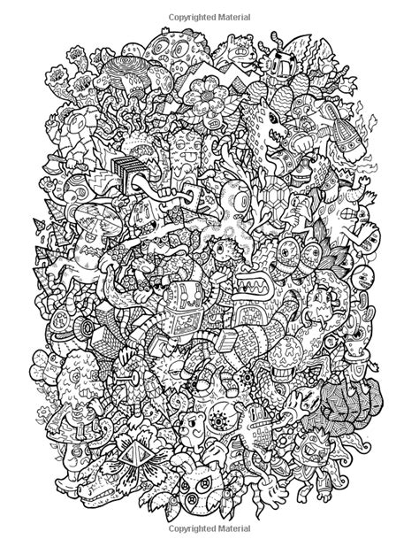 libro doodle fusion zifflins coloring doodle fusion zifflin s coloring book volume 2 zifflin lei melendres doodle art