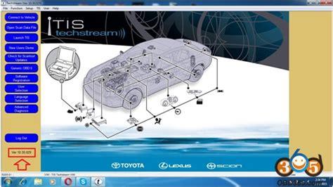 Toyota Techstream Toyota Tis Techstream 10 30 029 Free Obdii365