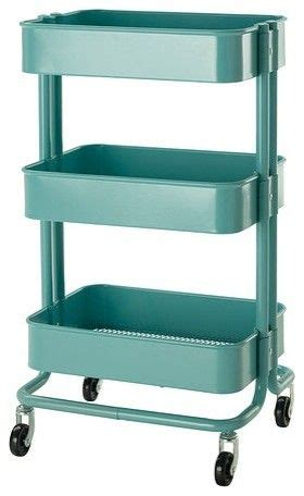 rolling carts ikea aqua cart from ikea love it to pieces home wishes