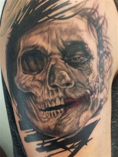 assassin ink tattoo dresden robertoalejandr skull joker assassin ink tattoo