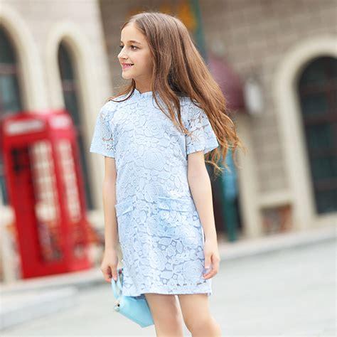 2016 summer cotton lace crochet dress baby