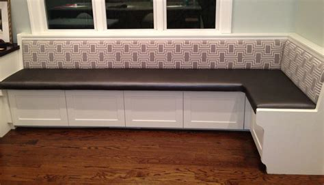 Custom Banquette Bench by Custom Banquette Seating