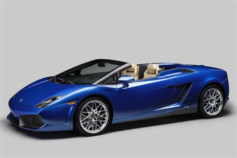 Inexpensive Lamborghini Lamborghini Gallardo Lp 550 2 Spyder The Cheapest Open Top