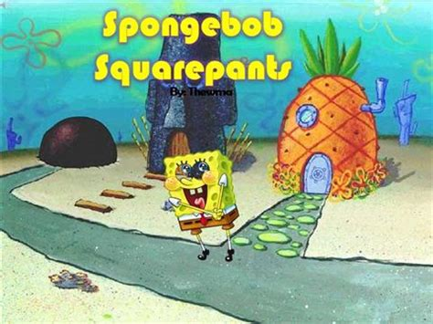 spongebob powerpoint template spongebob authorstream