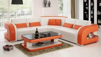 Living Room With Burgundy Sofa