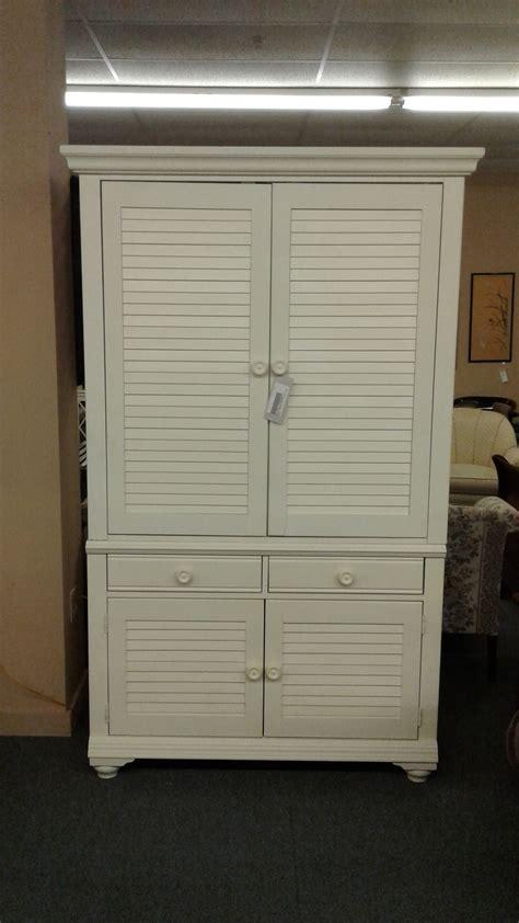 white tv armoire broyhill white tv armoire delmarva furniture consignment