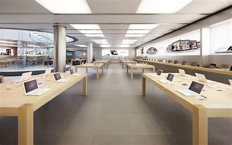 home designer interiors mac apple store design by bohlin cywinski jackson architects