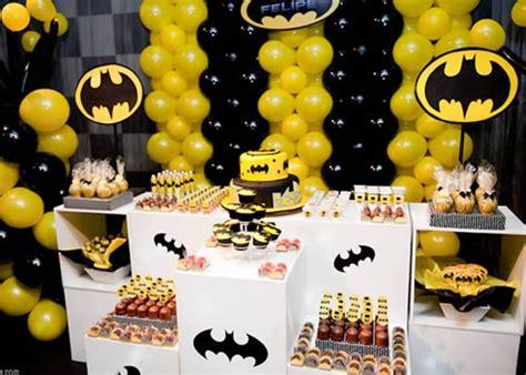 batman theme decorating ideas festa tema batman