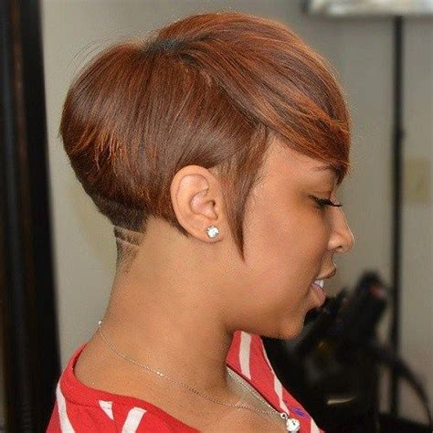 Pixie Hairstyle Full On Top Tapered Back For Women | 60 great short hairstyles for black women tapered