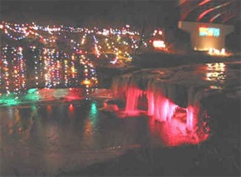 The Land Of Oz Christmas Is A Time When You Get Homesick Ludlow Falls Ohio Lights