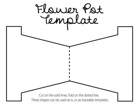 mothers day template card diy revisited s day flower pot with template