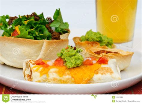 mexican dinner mexican dinner royalty free stock images image 24391139