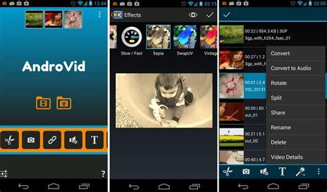 movie editor android especial aplicaciones de edici 243 n de v 237 deo en android el