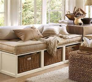 daybed with baskets stratton daybed with baskets potterybarn all in one bed