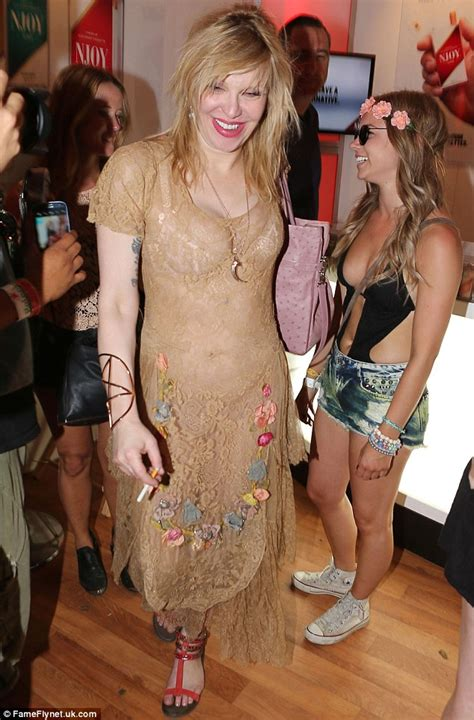 celebs forum uk celebrity skin courtney love sports see through lace