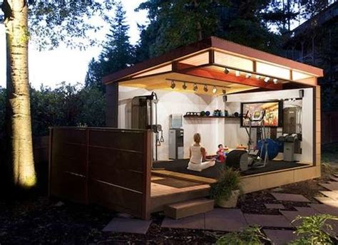 backyard buildings and more home gym backyard sheds 8 other uses for outbuildings