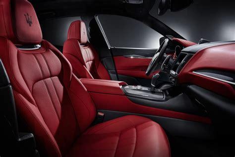 maserati car interior 2017 2017 maserati levante luxury suv maserati canada