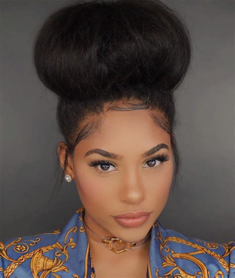 jobseeker in media for hairstyle beauty in south africa 7 easy jumbo bun styles for natural hair curly nikki