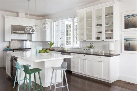 white l shaped kitchen with island l shaped kitchen with center island transitional kitchen