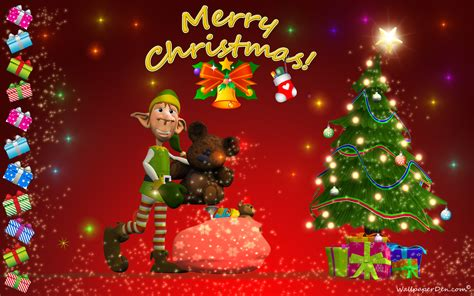 merry christmas desktop themes merry desktop wallpaper wallpapersafari