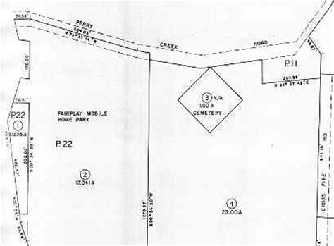 El Dorado County Property Records Fair Play Cemetery Assessor S Parcel Map