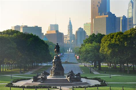 Like Down Duvet Philadelphia Benjamin Franklin Parkway Photograph By Bill