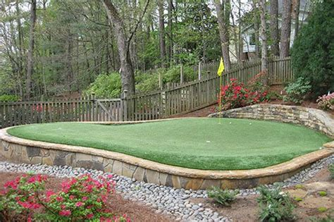 Backyard Putting Green Cost by Tour Greens Backyard Putting Green Cost